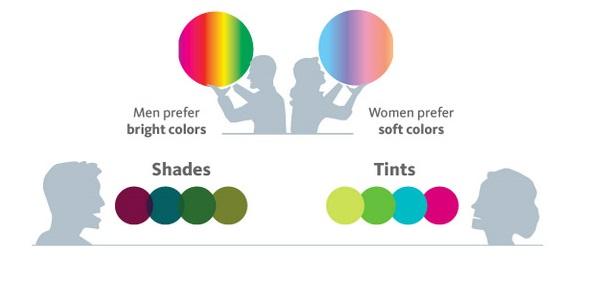color scheme prefernce demographics