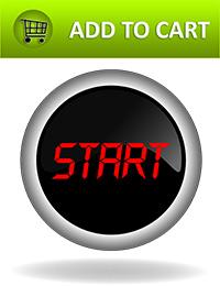 contrasting color CTA button