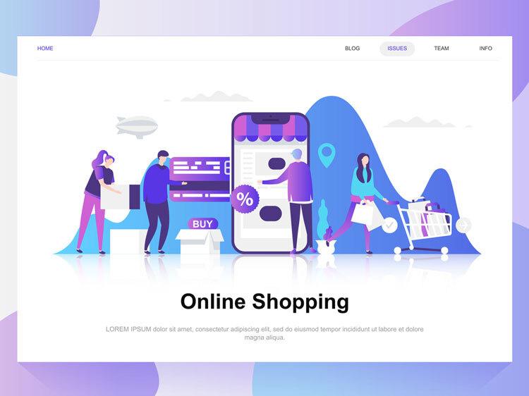 effective online shop ecommerce website development